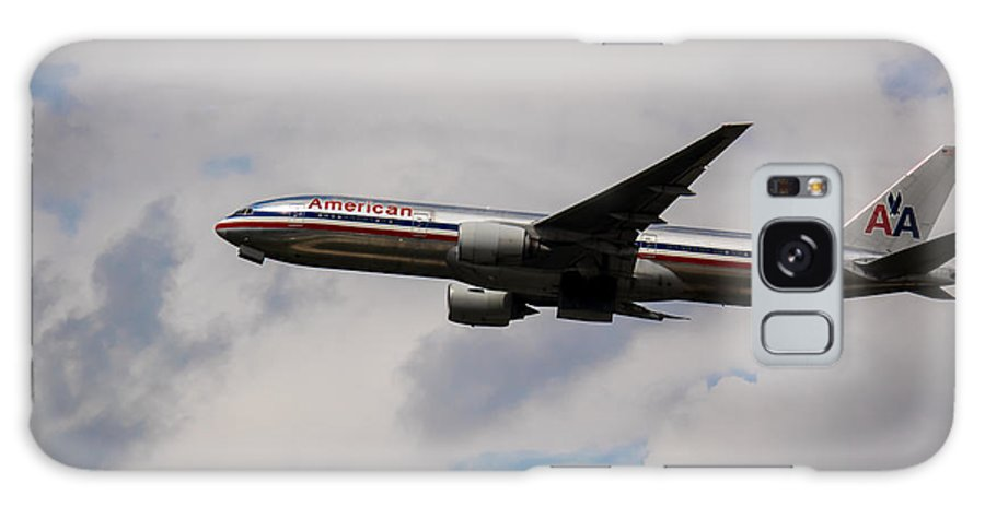 Airline Galaxy S8 Case featuring the photograph Big Foot American B 777 by Rene Triay Photography