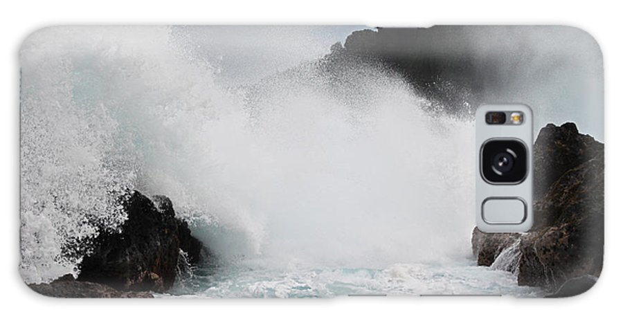 Big Island Galaxy S8 Case featuring the photograph Big Island Hawaii Surge by Joseph Semary