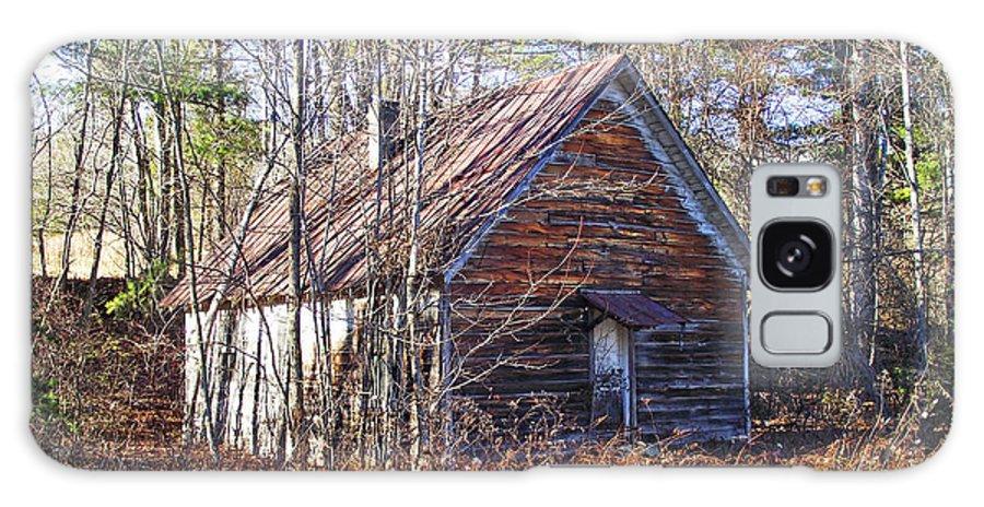 Old Church Galaxy S8 Case featuring the photograph Big Pisgah Baptist Church Nc by Duane McCullough