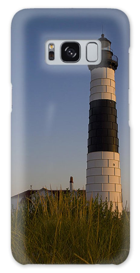 Lighthouse Galaxy S8 Case featuring the photograph Big Sable by Megan Noble
