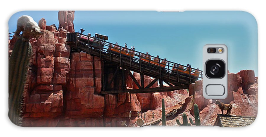 Thunder Mountain Galaxy S8 Case featuring the photograph Big Thunder Mountain Walt Disney World by Thomas Woolworth