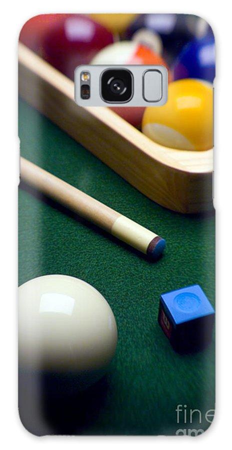 Billiard Galaxy S8 Case featuring the photograph Billiards by Tony Cordoza