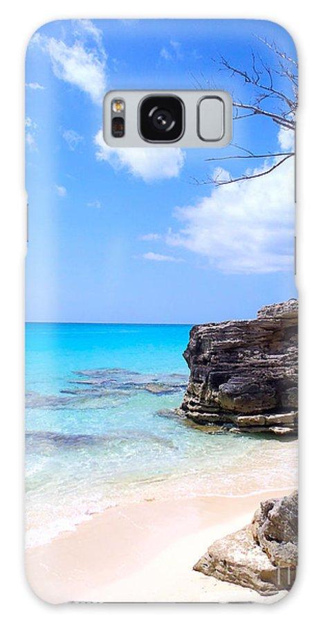 Bimini Galaxy S8 Case featuring the photograph Bimini Beach by Carey Chen