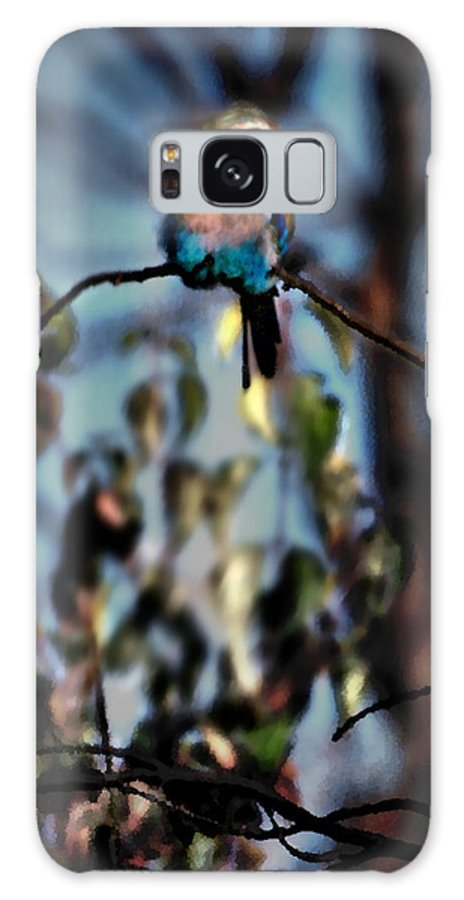 Nature Galaxy S8 Case featuring the photograph Bird On A Limb by Steve Karol