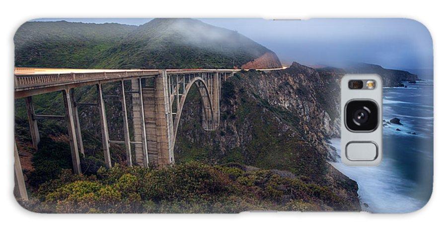 Bixby Bridge Galaxy S8 Case featuring the photograph Bixby Bridge by Malcolm MacGregor