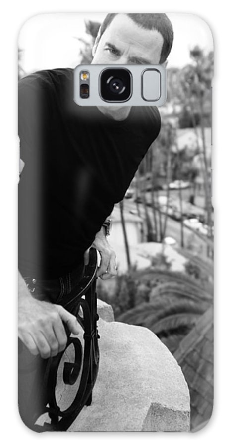 Roof Galaxy S8 Case featuring the photograph Black And White by Rav Holly