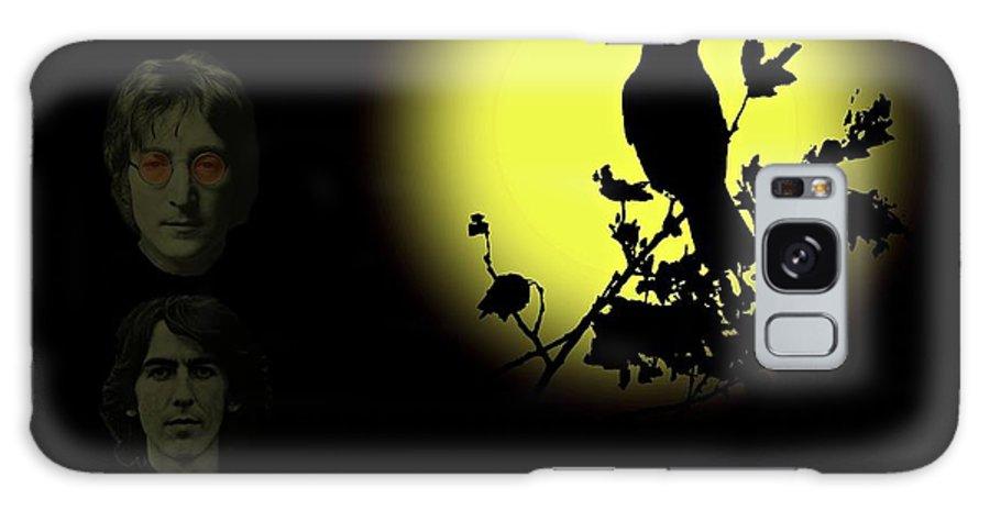 Blackbird Galaxy S8 Case featuring the photograph Blackbird Singing In The Dead Of Night by David Dehner