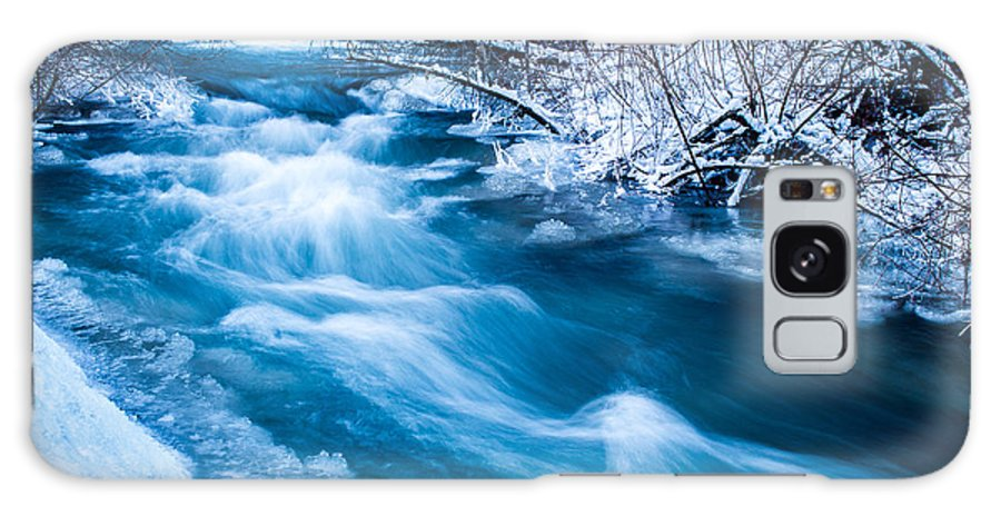 Winter Galaxy S8 Case featuring the photograph Blacksmith Fork Canyon by Jason Chacon