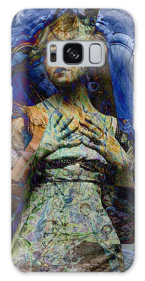 Digital Galaxy S8 Case featuring the digital art Blade Apophysis Venti by Mary Clanahan