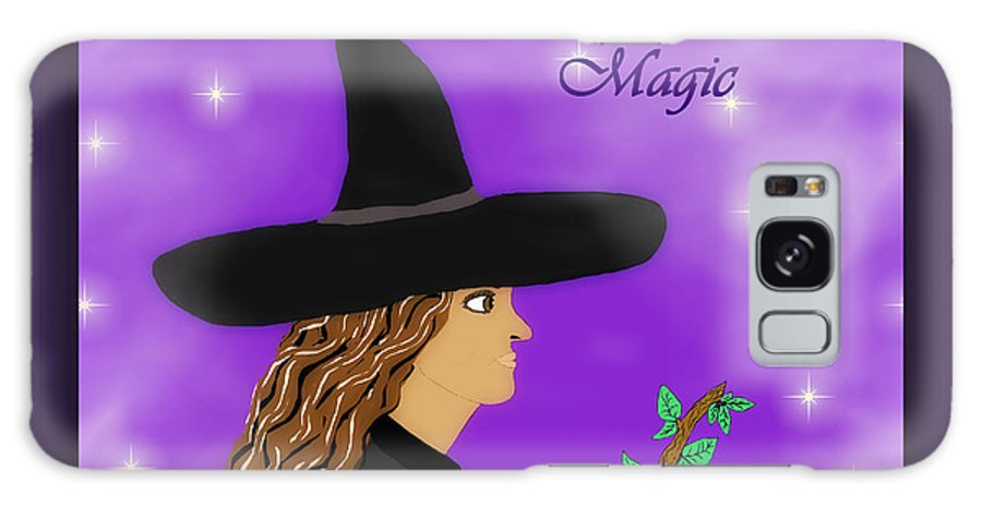 Witch Galaxy S8 Case featuring the photograph Blessed Samhain Witch by Eva Thomas