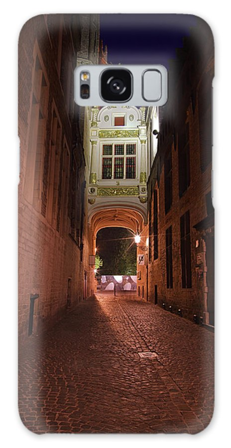 3scape Galaxy S8 Case featuring the photograph Blind Donkey Alley by Adam Romanowicz