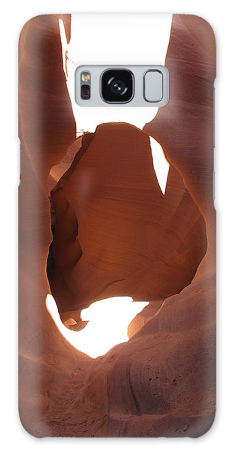 Canyon Galaxy S8 Case featuring the photograph Blocked Canyon by Christiane Schulze Art And Photography