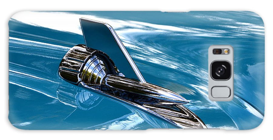 Classic Galaxy S8 Case featuring the photograph Blue 57 Chevy Bel Air by Dean Ferreira
