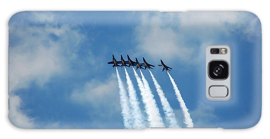 Dare Galaxy S8 Case featuring the photograph Blue Angels 3 by Aimee L Maher ALM GALLERY