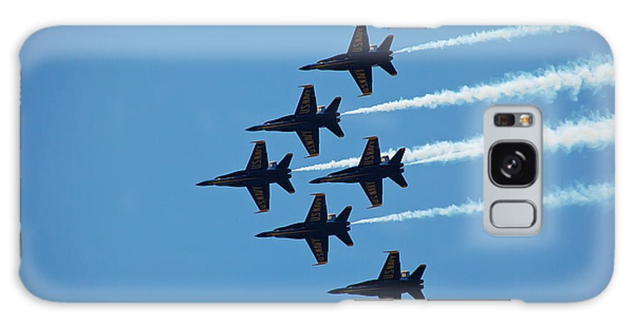 Dare Galaxy S8 Case featuring the photograph Blue Angels 4 by Aimee L Maher ALM GALLERY
