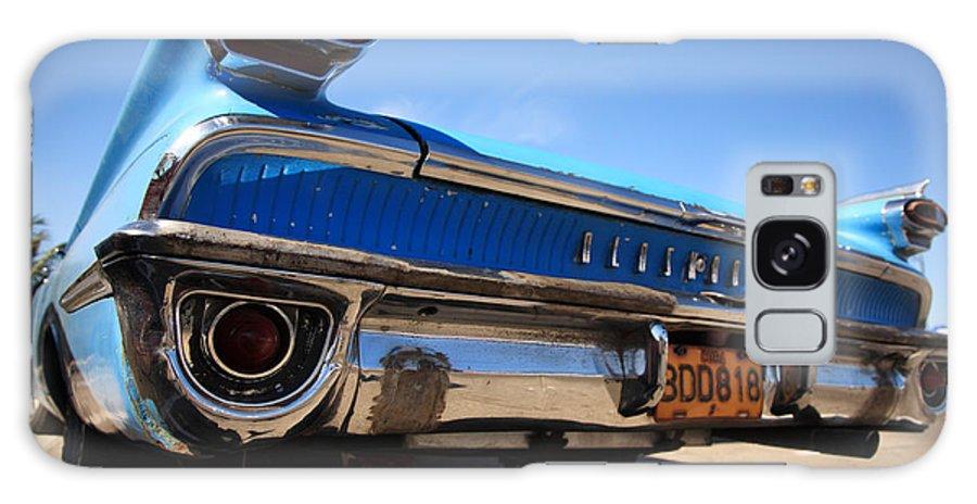 1960's Style Galaxy S8 Case featuring the photograph Blue Car Bumper Havana by Deborah Benbrook