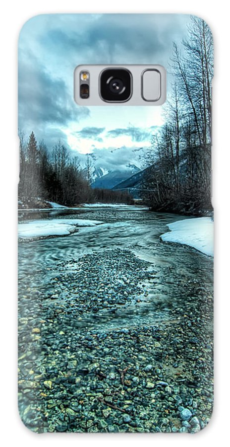 Beautiful Galaxy S8 Case featuring the photograph Blue Creek by James Wheeler