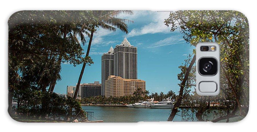 Miami Beach Galaxy S8 Case featuring the photograph Blue Diamond Condos Miami Beach by Rene Triay Photography