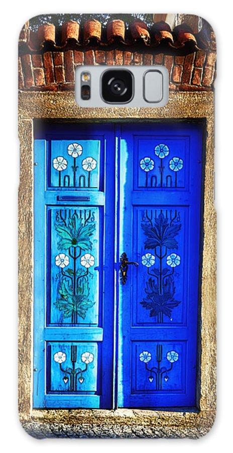Door Galaxy S8 Case featuring the photograph Blue Door by Joan Carroll