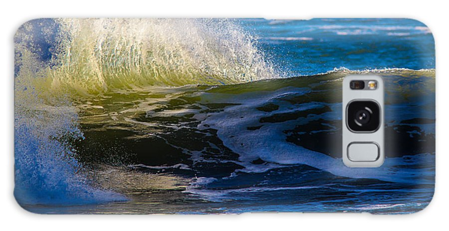 Ocean Galaxy S8 Case featuring the photograph Blue Green Get Away by Brian Williamson