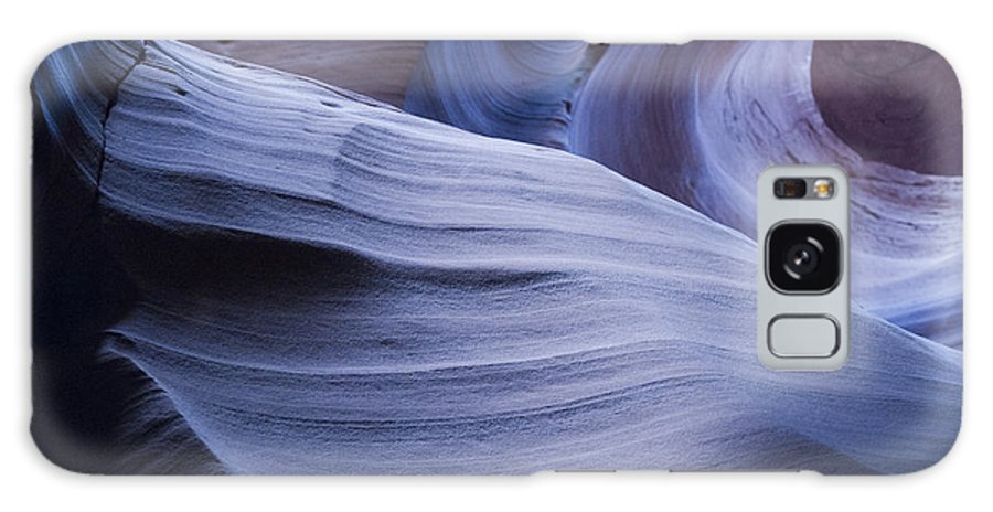 Antelope Canyon Galaxy S8 Case featuring the photograph Blue Harmony by Brenda Kean