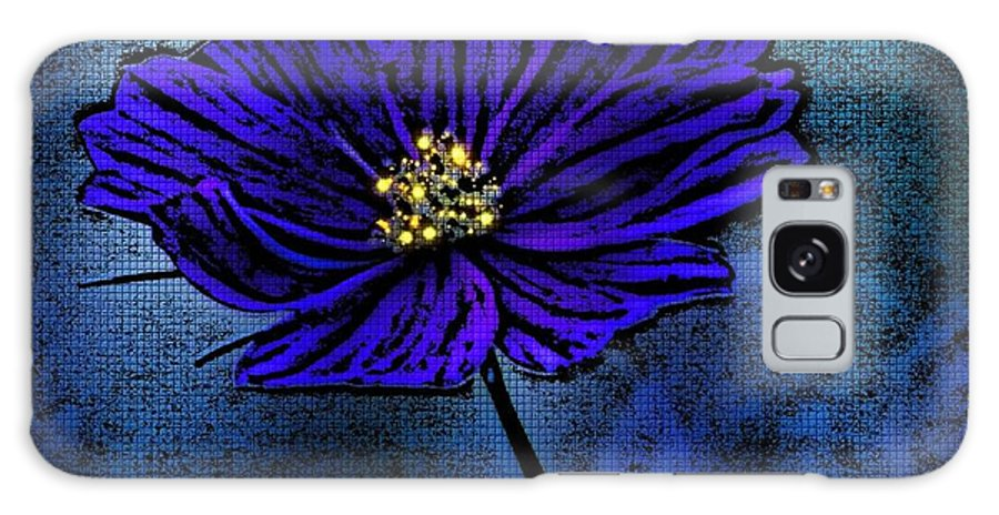 Blue Lady Galaxy S8 Case featuring the photograph Blue Lady by Barbara S Nickerson