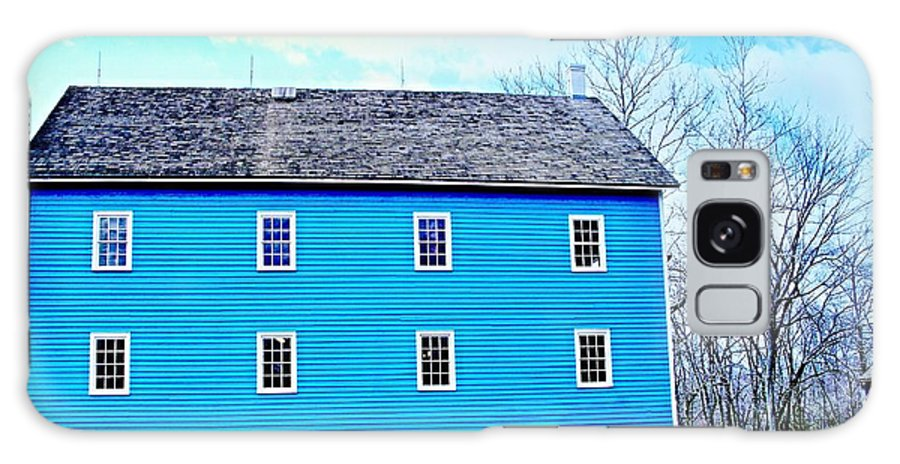Mill Prints Galaxy S8 Case featuring the photograph Blue Mill Historic Walnford Mill by Rick Todaro