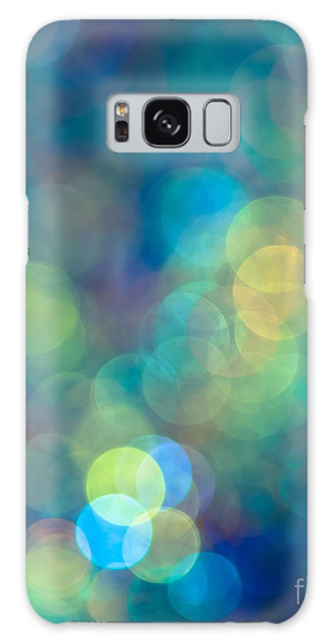 Abstract Galaxy S8 Case featuring the photograph Blue Of The Night by Jan Bickerton