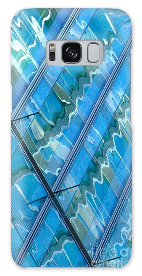 Architecture Galaxy S8 Case featuring the photograph Blue Reflection 3 by Dennis Knasel