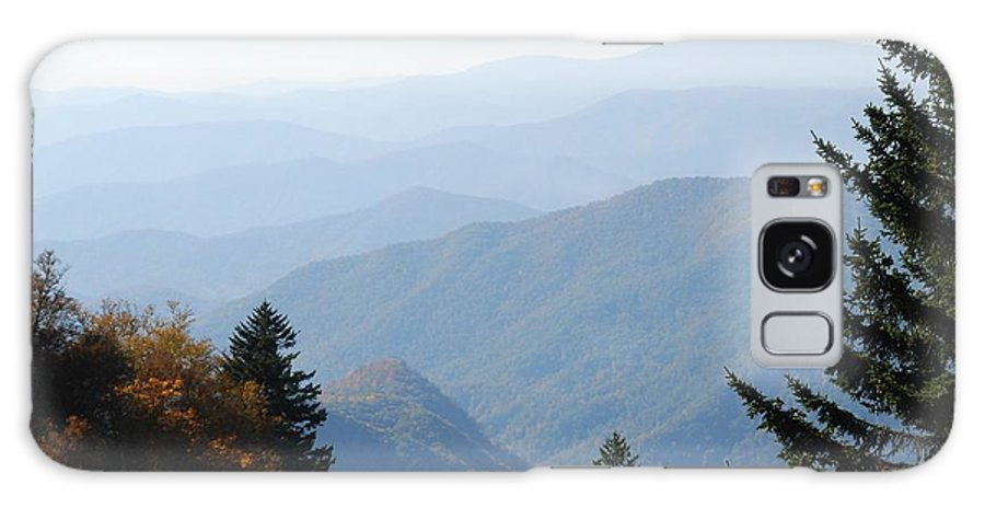 Blue Ridge Galaxy S8 Case featuring the photograph Blue Ridge In The Fall by Michael Gooch