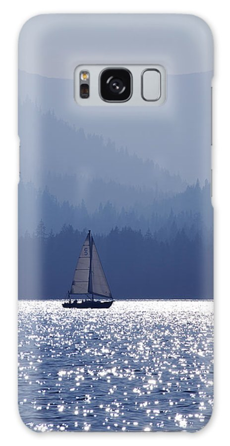 Tahoe Galaxy S8 Case featuring the photograph Blue Sailing by Mark Smith