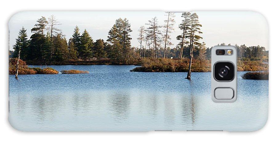 Wetland Galaxy S8 Case featuring the photograph Blue Shades by Linda Kerkau