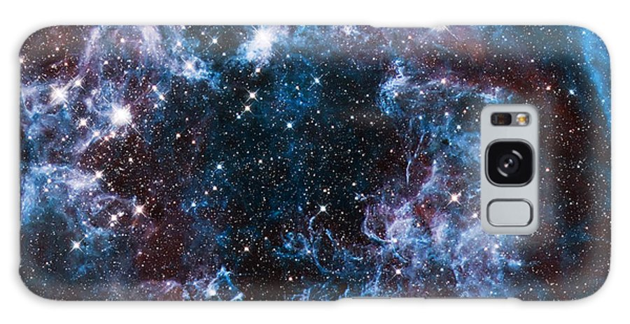 Nebula Galaxy S8 Case featuring the photograph Blue Storm by Jennifer Rondinelli Reilly - Fine Art Photography