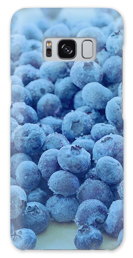 Berries Galaxy S8 Case featuring the photograph Blueberries by Romulo Yanes