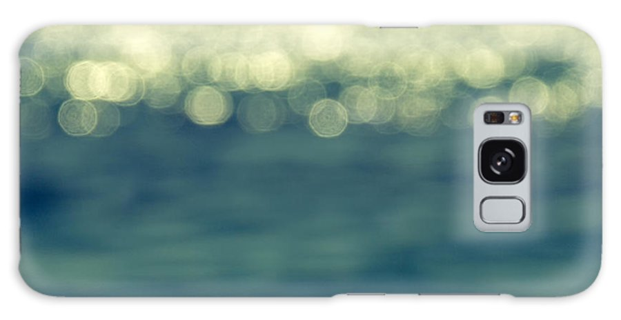 Abstract Galaxy Case featuring the photograph Blurred Light by Stelios Kleanthous