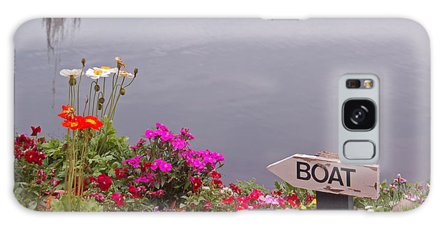 Boat Galaxy Case featuring the photograph Boat by Suzanne Gaff