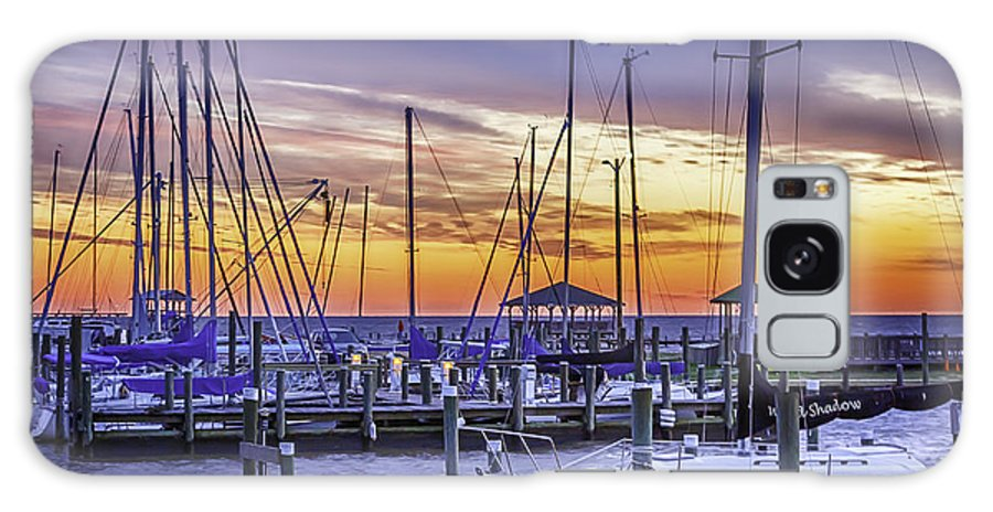 Fairhope Galaxy S8 Case featuring the photograph Boats In Awe by Don Cockroft
