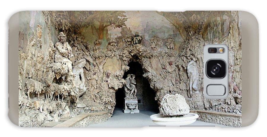 Boboli La Grotto Grande Galaxy S8 Case featuring the photograph Boboli La Grotta Grande 3 by Ellen Henneke