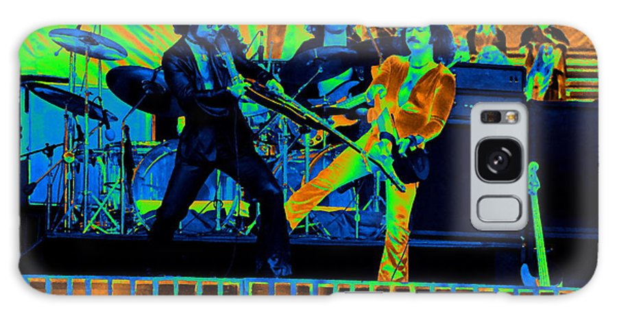 Blue Oyster Cult Galaxy S8 Case featuring the photograph Boc #28 In Cosmicolors by Ben Upham