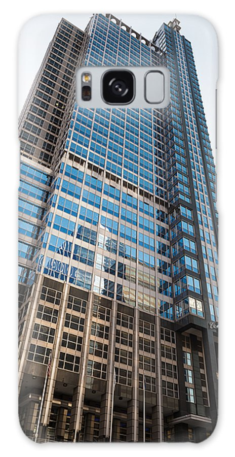 Boeing Galaxy S8 Case featuring the photograph Boeing World Hq Chicago by Steve Gadomski