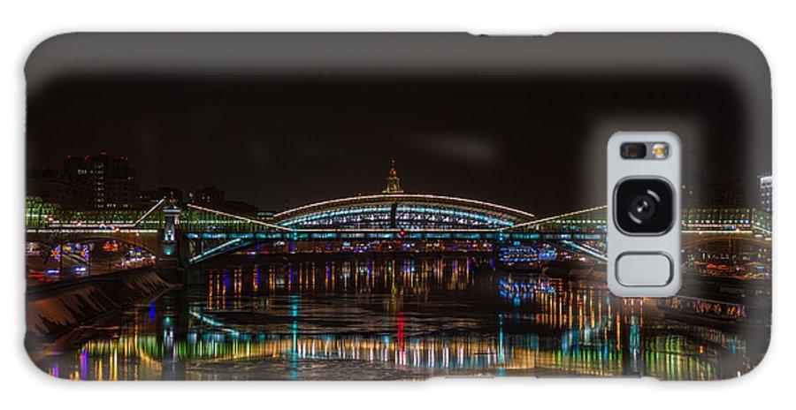 Bogdan Galaxy S8 Case featuring the photograph Bogdan Khmelnitsky Bridge Over The Moscow River - Featured 3 by Alexander Senin
