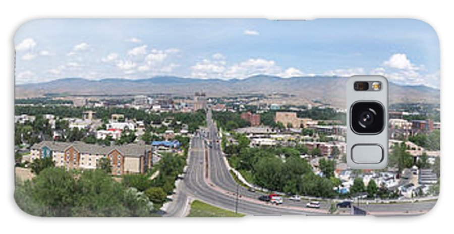 Panoramas Galaxy S8 Case featuring the photograph Boise From Boise Depot Tower by Georgia Hamlin