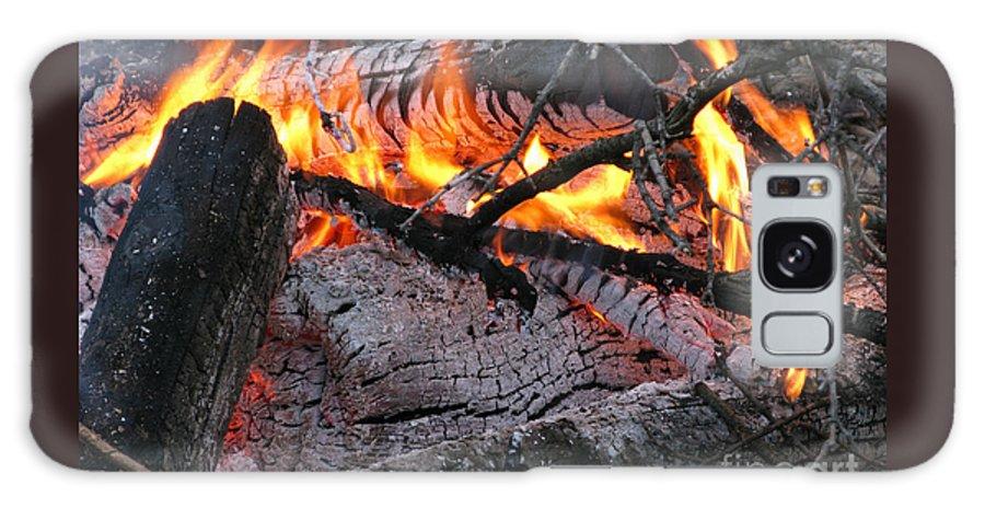 Bonfire Galaxy S8 Case featuring the photograph Bonfire by Ann Horn
