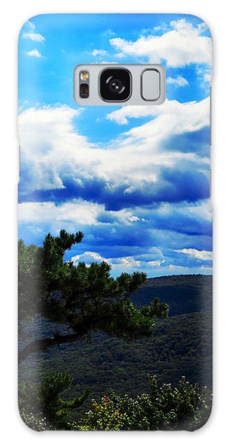 Sky Galaxy S8 Case featuring the photograph Bonsai by Art Dingo