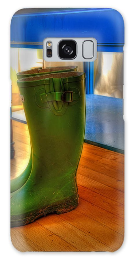 Boot Galaxy S8 Case featuring the photograph Boots by Mark Alder