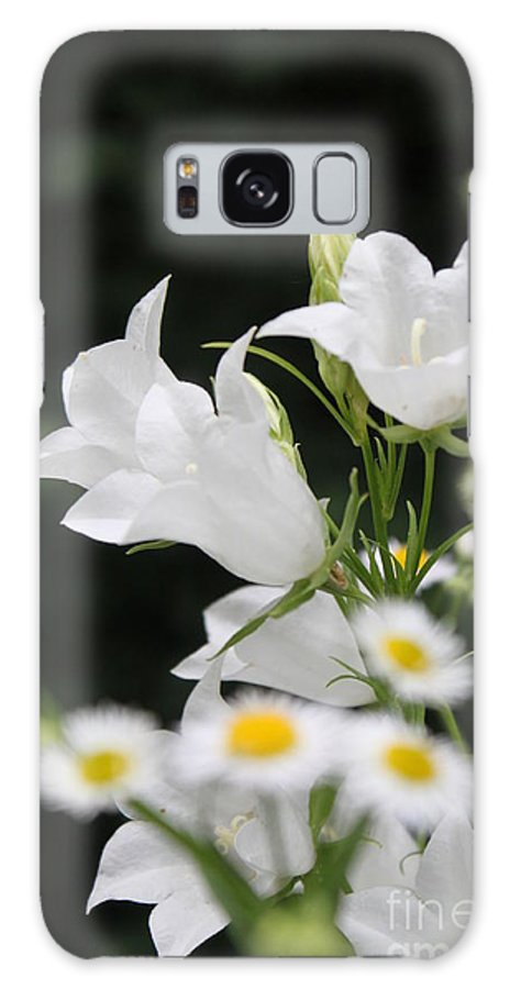 Galaxy S8 Case featuring the photograph Botanical Beauty In White by Jennifer E Doll