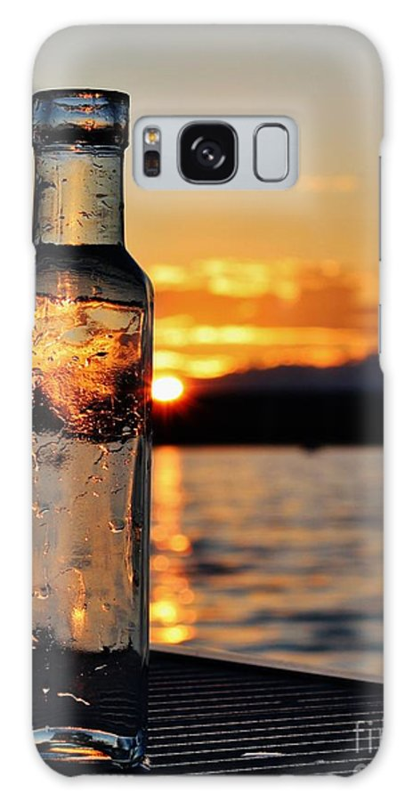 Maine Galaxy S8 Case featuring the photograph Bottled Sun by Karin Pinkham