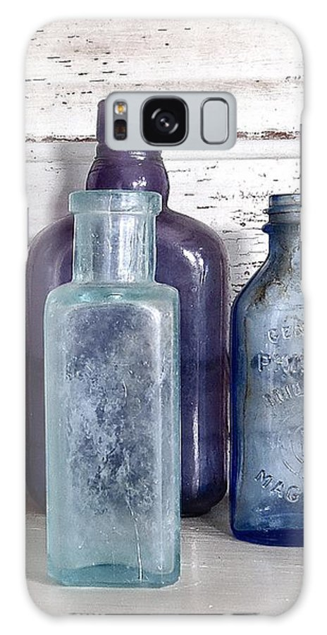 Old Bottles Galaxy S8 Case featuring the photograph Bottles by Angie Mahoney