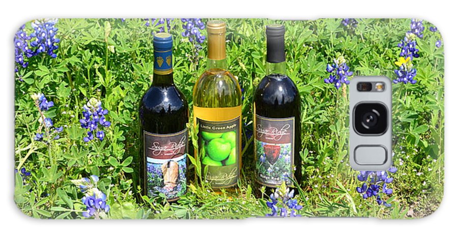 Sugar Ridge Winery Galaxy S8 Case featuring the photograph Bottles Of Wine by Hilton Barlow