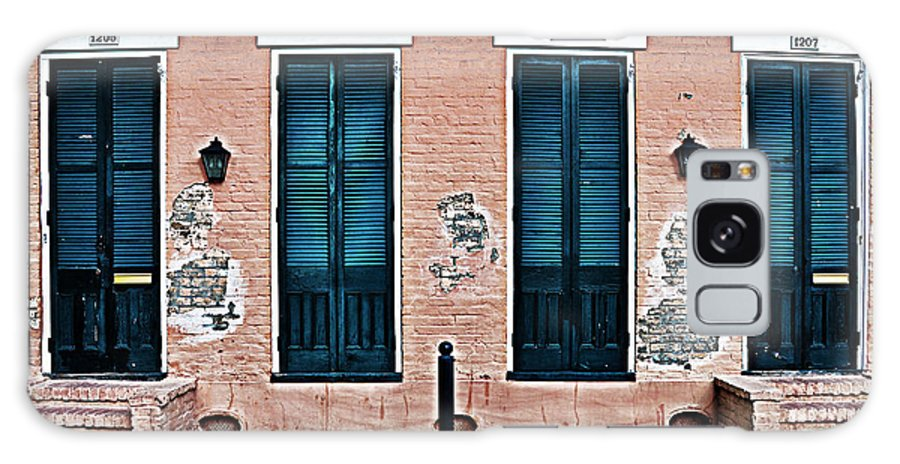 Bourbon Galaxy S8 Case featuring the photograph Bourbon Street Doors by Bill Cannon